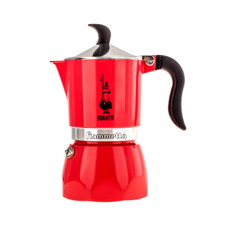 Bialetti Fiammetta Fluo Fragola kávovar - 3 šálky