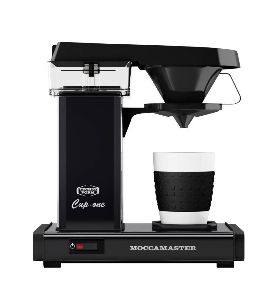 Moccamaster One Cup matt black/černý - Kávovar na filtrovanou kávu