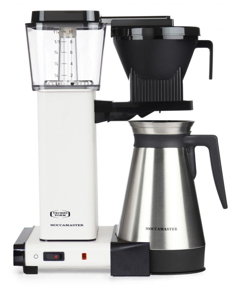 Moccamaster KBGT 741 AO cream/krémově bílý - Kávovar na filtrovanou kávu (s termo nádobou)
