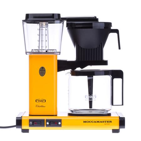 Moccamaster KBG Select žlutý - Kávovar na filtrovanou kávu