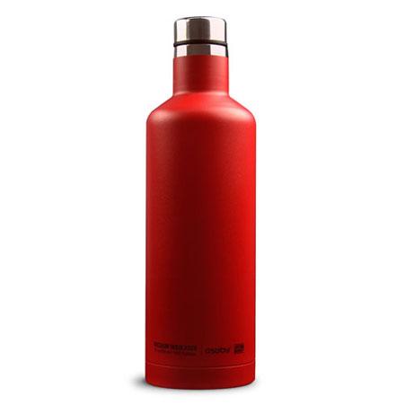 Asobu Time Square cestovní termoláhev 450 ml Red