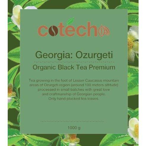 BIO Gruzínský Sypaný černý čaj OZURGETI OP 500 g