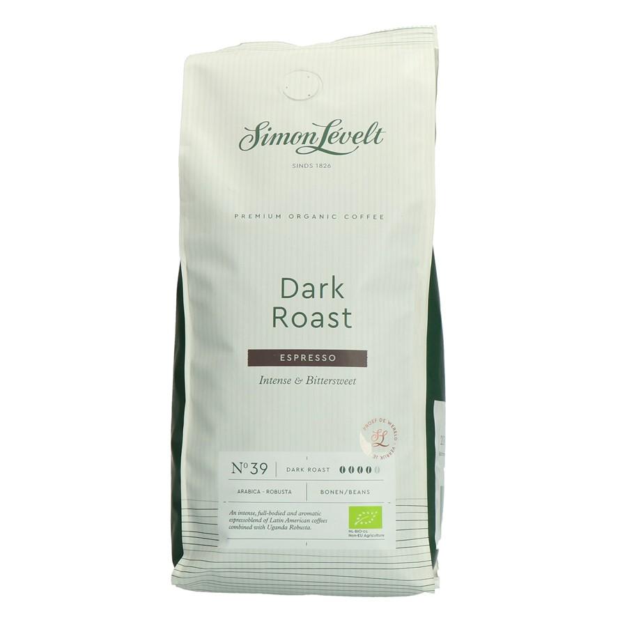 Simon Lévelt Espresso Dark Roast zrnková káva 500 g