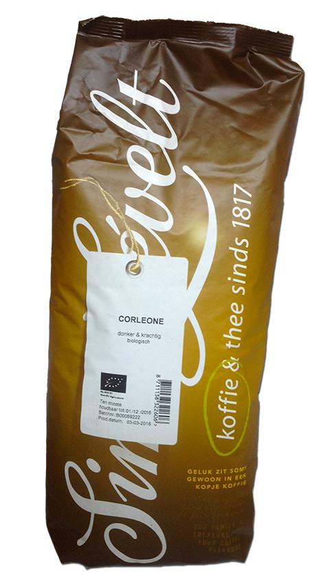 Simon Lévelt Corleone - Very dark roast - BIO zrnková káva 1 kg