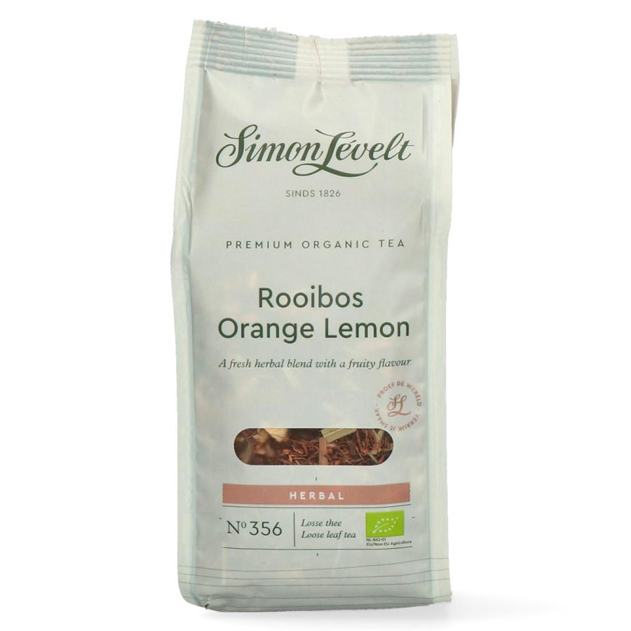 Simon Levelt Rooibos s pomerančema citrónem Premium – Sypaný 110 g