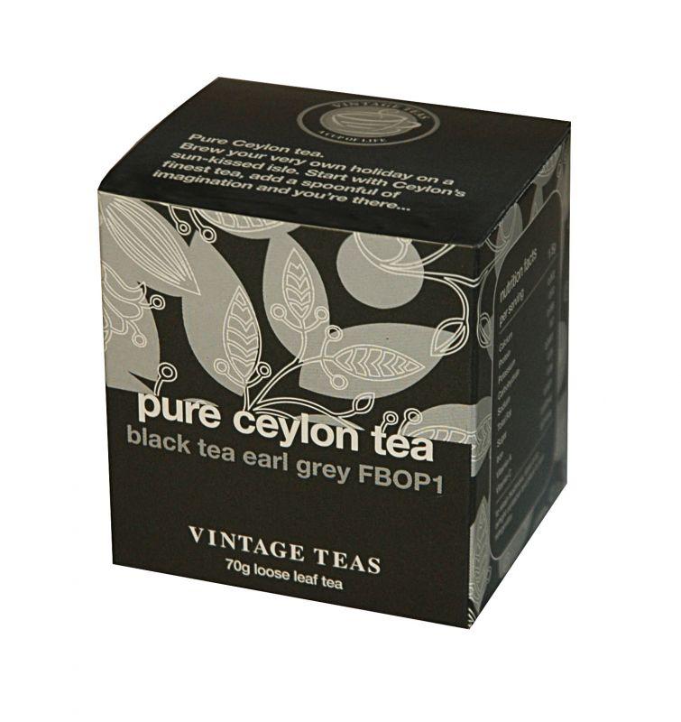Vintage Teas Černý čaj Earl Grey sypaný 70g
