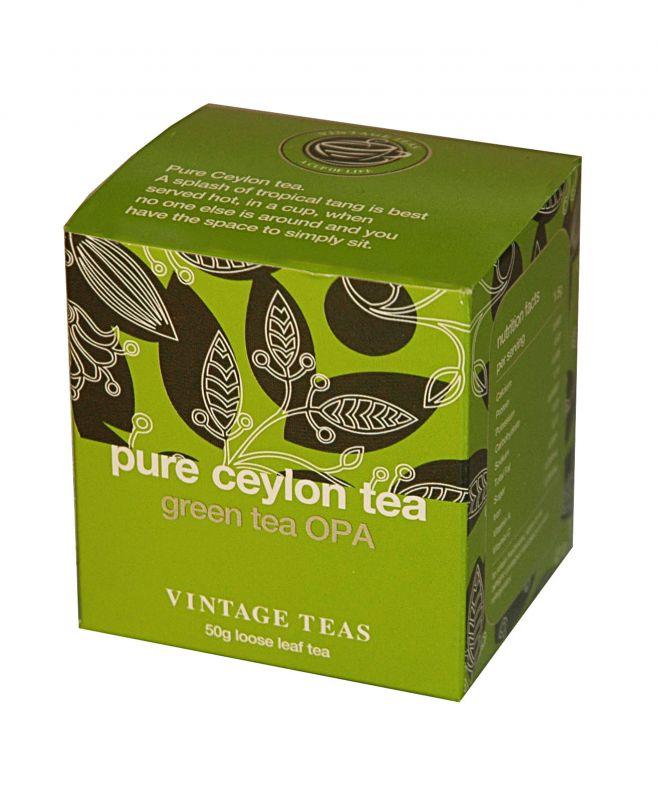 Vintage Teas Zelený čaj OPA sypaný 50g
