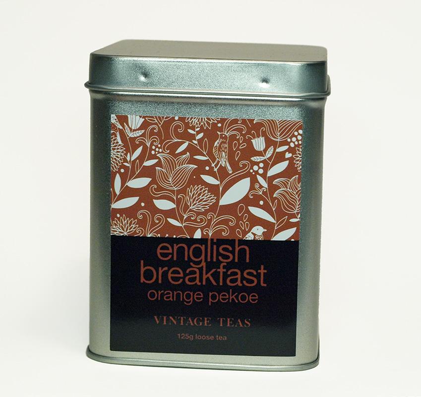 Vintage Teas Černý čaj English Breakfast - sypaný 125g