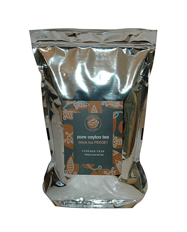 Vintage Teas Černý čaj – PEKOE 1 (V5172) sypaný 1kg