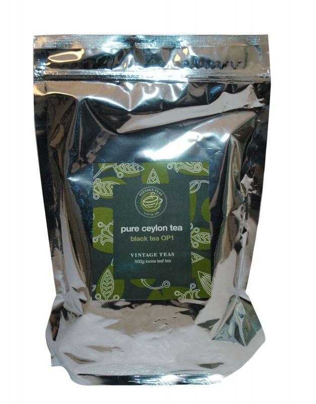 Vintage Teas Černý čaj – OP1 (V5169) sypaný 0,5 kg