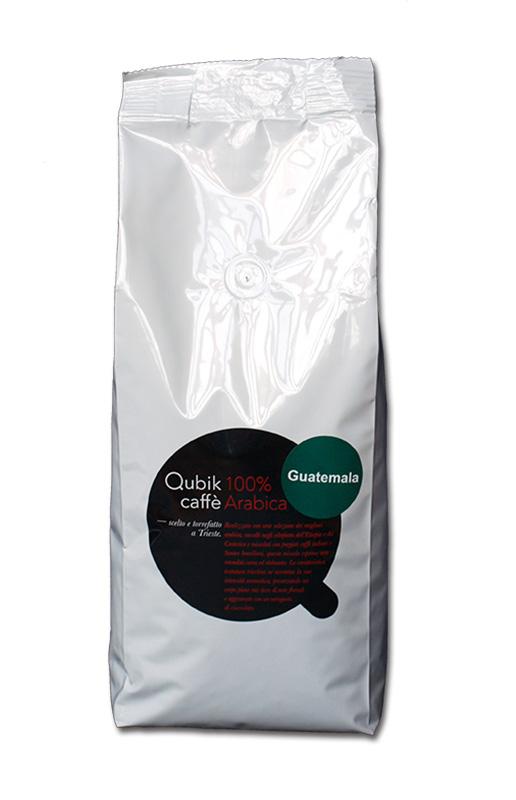 Qubik Caffé Guatemala - zrnková káva 1 kg