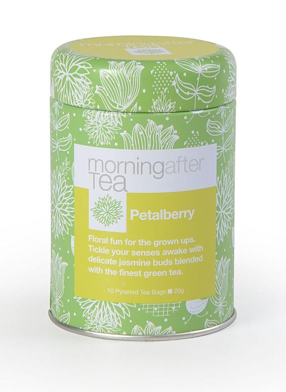 Vintage Teas zelený čaj Petalberry - pyramidy 10ks