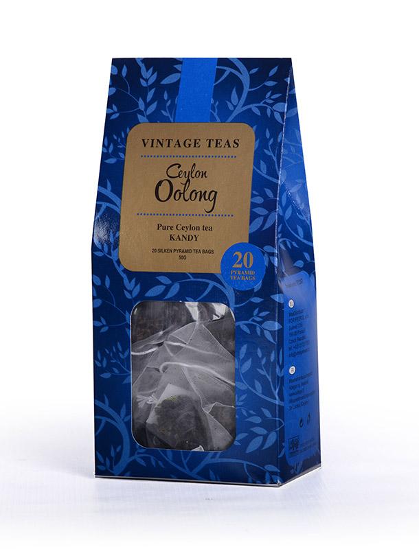 Vintage Teas Ceylon Oolong - pyramidy 20ks