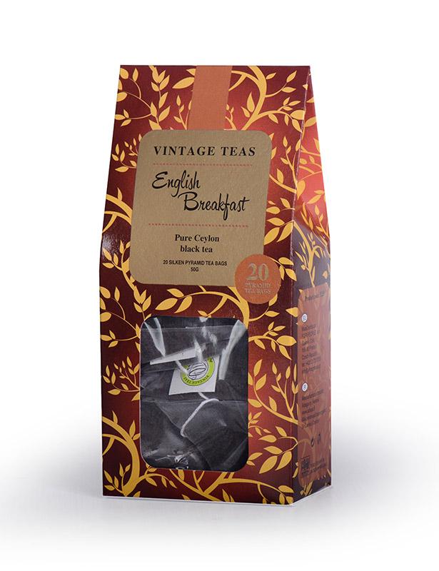 Vintage Teas Černý čaj English Breakfast - pyramidy 20ks