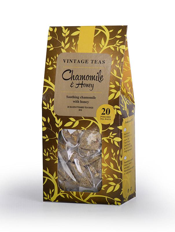 Vintage Teas Heřmánek s medem pyramid 20ks