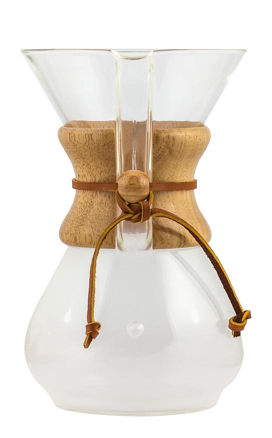 Chemex na přípravu 6 šálků kávy