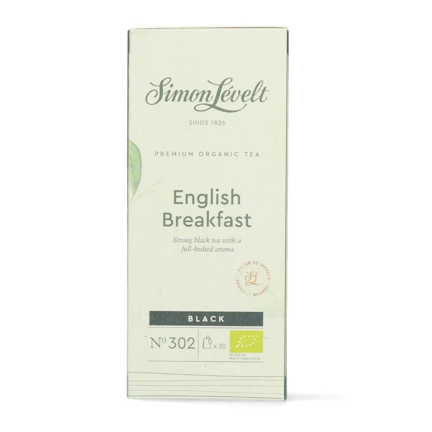 Simon Lévelt English Breakfast - černý čaj - (20 x 2 g)