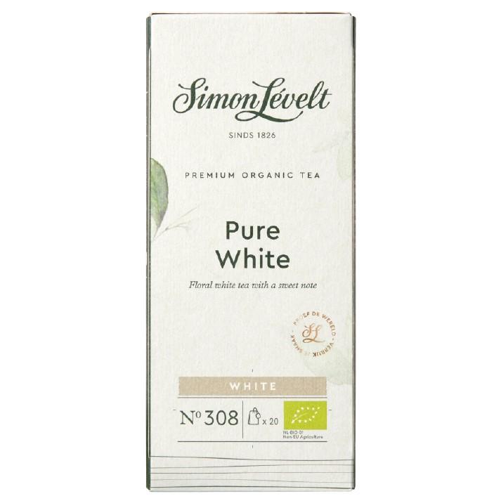 Simon Levelt Pure white - bílý čaj (20 x 1,75 g)