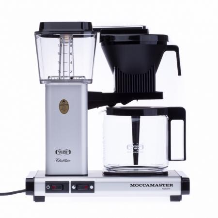 Moccamaster KBG Select matně stříbrný - Kávovar na filtrovanou kávu