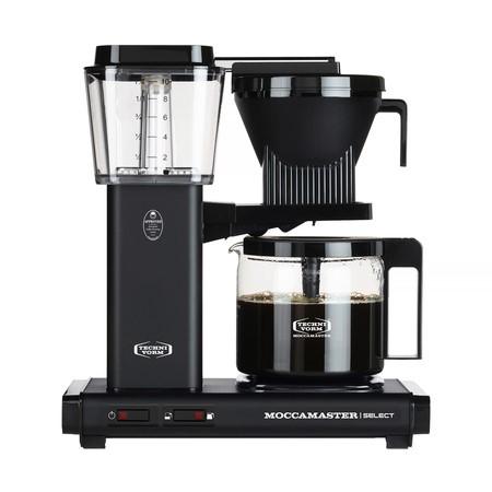 Moccamaster KBG Selected matně černý - Kávovar na filtrovanou kávu