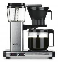 Moccamaster KBG Select brushed/kovový - Kávovar na filtrovanou kávu