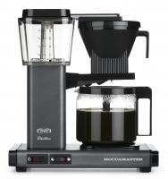 Moccamaster KBG 741 AO stone grey/tmavě šedý - Kávovar na filtrovanou kávu