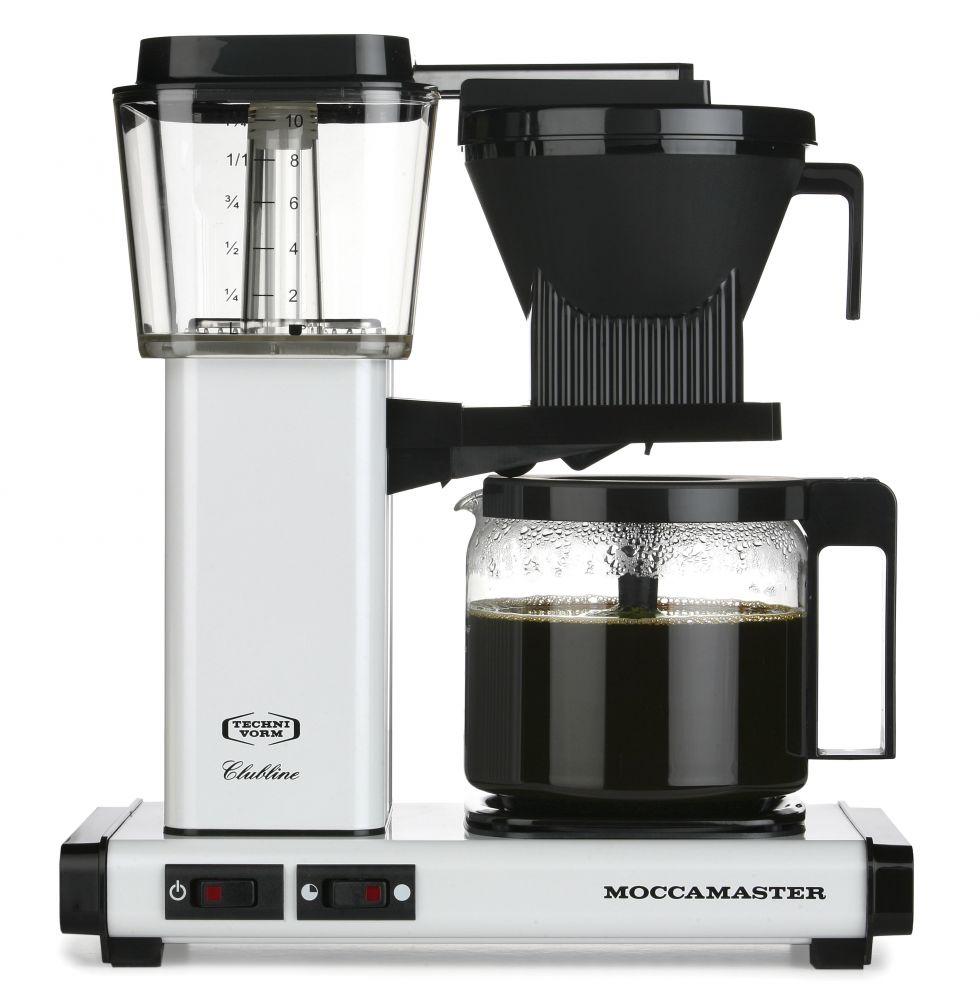Moccamaster KBG Selected bílý - Kávovar na filtrovanou kávu