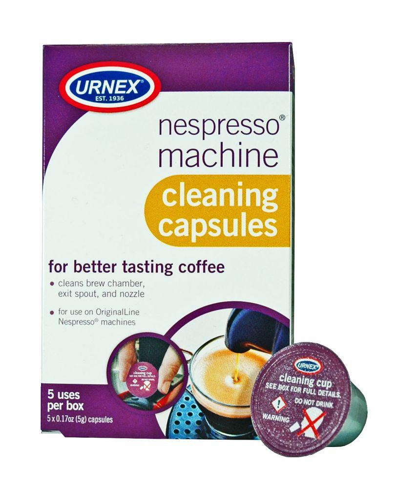 Urnex Nespresso čistící kapsle pro kávovary