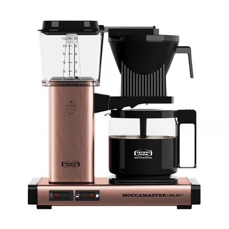 Moccamaster KBG Select copper/měď - Kávovar na filtrovanou kávu