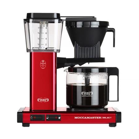 Moccamaster KBG Selected červená metalíza - Kávovar na filtrovanou kávu