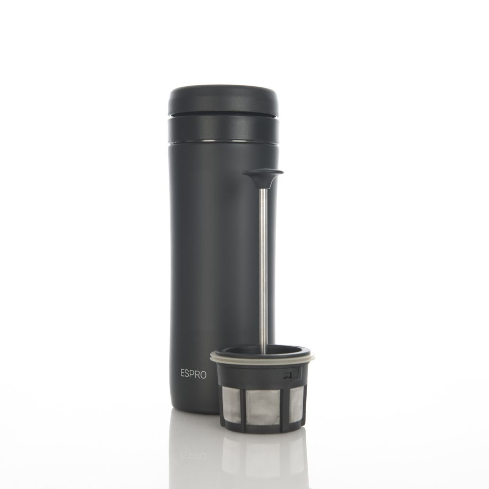 ESPRO Travel Press - 350 ml (černý)