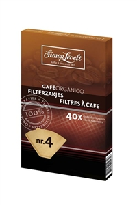 Simon Lévelt Filtr na kávu - Coffee filter - 40ks