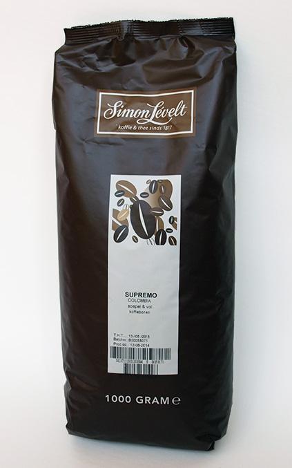 Simon Levelt Supremo - Kolumbie zrnková 1 kg