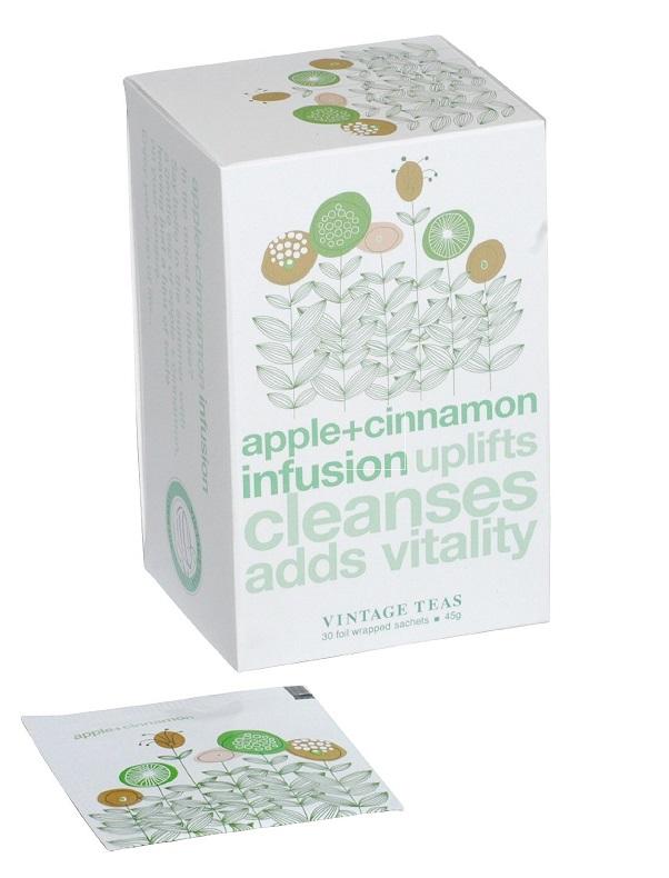 Vintage Teas Ovocný čaj – Jablko a skořice 30 x 1,5g sáčky