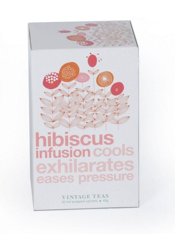 Vintage Teas Ovocný čaj – Ibišek - 30x1,5g sáčky