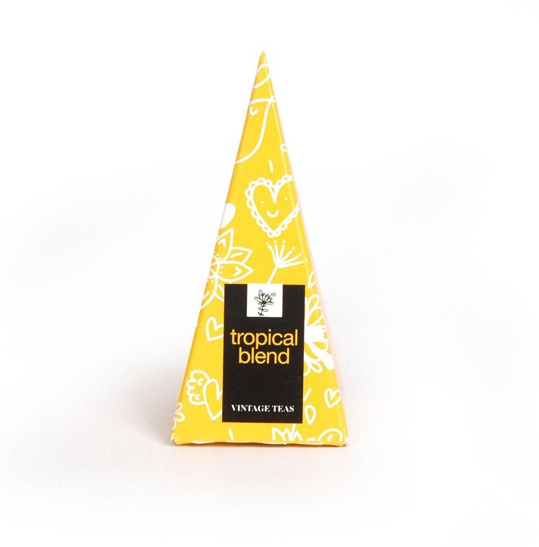 Vintage Teas Směs Tropické ovoce - BOX pyramid 30 x 5g