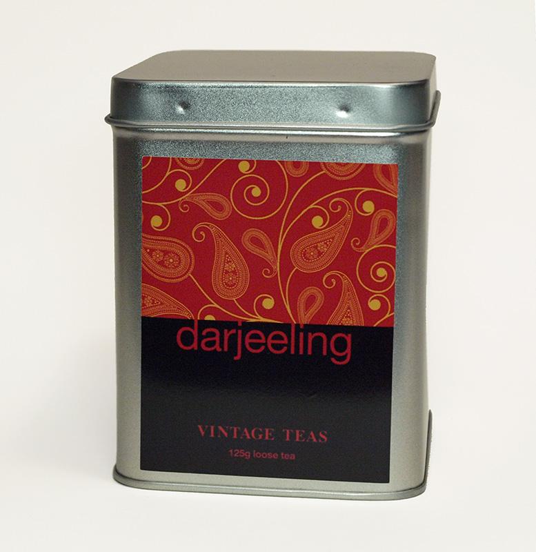 Vintage Teas Černý čaj Darjeeling (Indie) - sypaný 125g