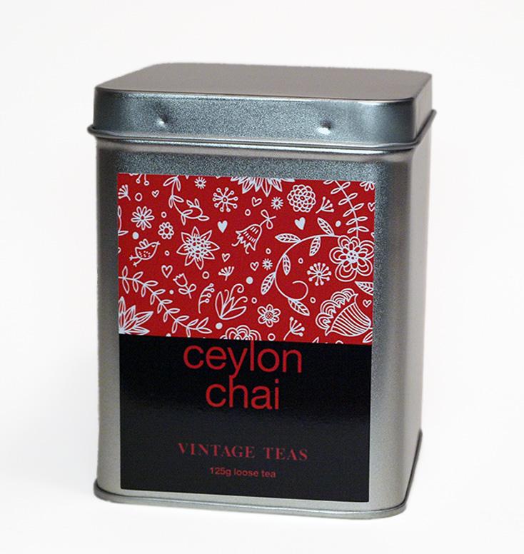 Vintage Teas Ceylon Chai - sypaný 125g