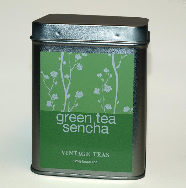Vintage teas Zelený čaj Sencha - sypaný 125g