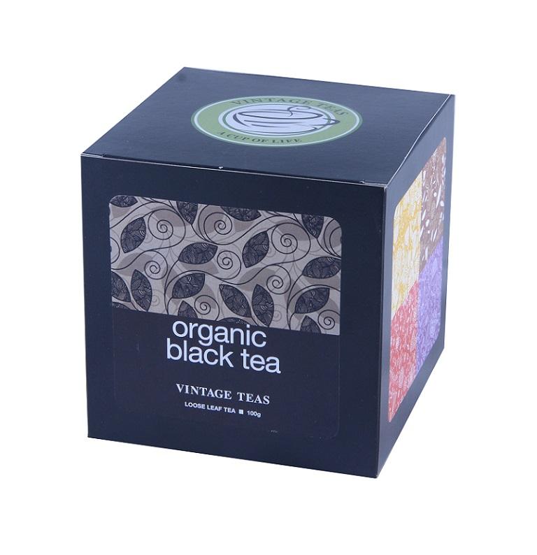 Vintage Teas BIO Černý čaj - sypaný Premium 100g