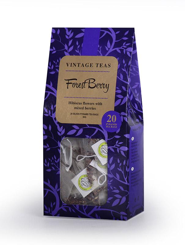 Vintage Teas Lesní plody - pyramidy 20ks