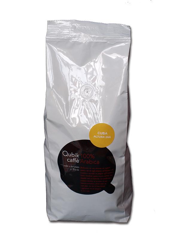 Qubik Caffé Cuba Altura Lavado AA - zrnková káva 1 kg
