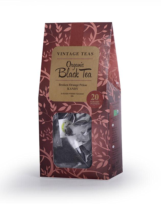 Vintages Teas BIO Černý čaj pyramidy 20ks