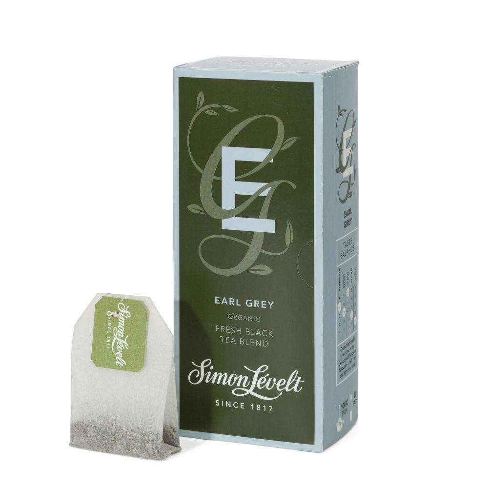 Simon Lévelt Earl Grey - černý čaj - 20 x 1,75g