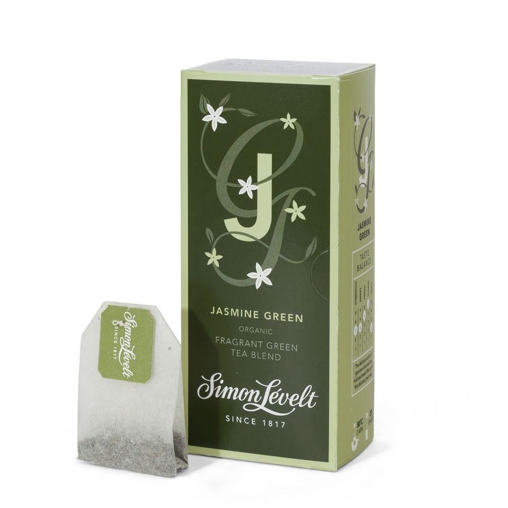 Simon Levelt Jasmine Green - zelený čaj s jasmínem (20 x 1,75 g)