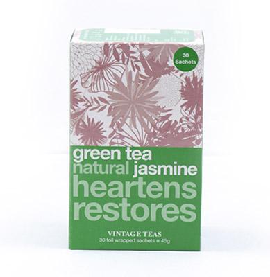 Vintage Teas Zelený čaj s jasmínem - 30x1,5 g sáčky