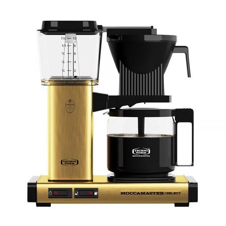 Moccamaster KBG Selected zlatý/mosaz - Kávovar na filtrovanou kávu