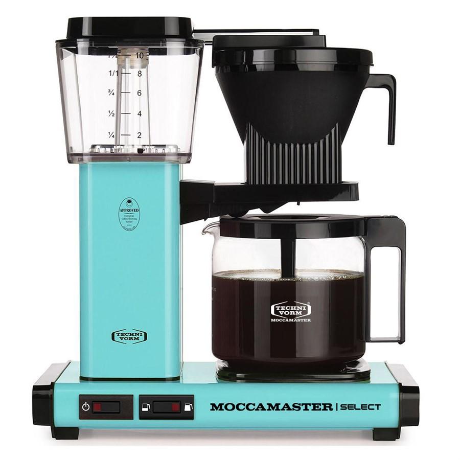 Moccamaster KBG Select tyrkysový - Kávovar na filtrovanou kávu