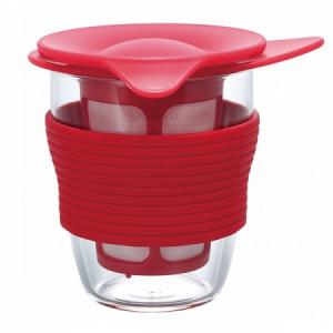 Hario Handy tea maker 200 ml - šálek na čaj červený